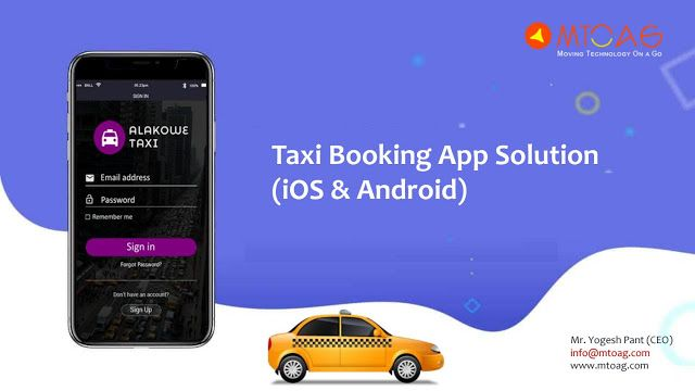 Mtoag is the best Taxi App Developer Company in India, USA