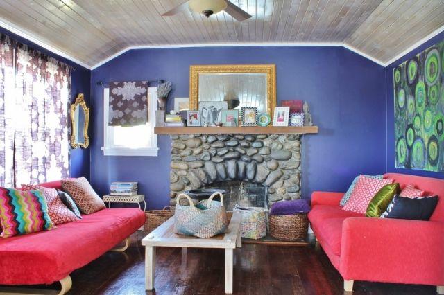 Schon #wohnzimmer Wohnzimmergestaltung Mit Farbigen Möbeln U2013 Frisch Und Poppig # Wohnzimmergestaltung #mit #farbigen