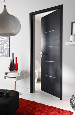 portes int rieures contemporaines recherche google porte pinterest int rieur. Black Bedroom Furniture Sets. Home Design Ideas
