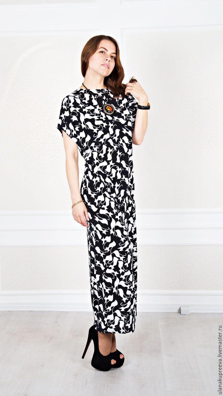ae0b5c15957 Купить Платье из трикотажа летнее - платье
