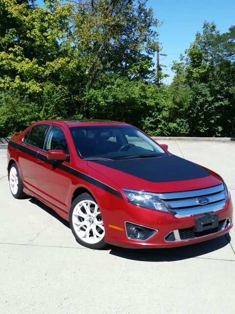 Modified Ford Fusion Sport Awd 3 5 Liter V6 Americas 1st