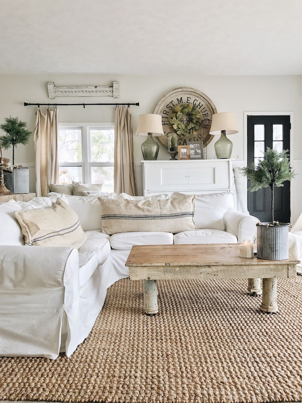 French country living room design ideas (44) | salon | Pinterest ...