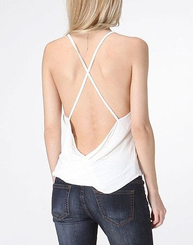 Obsessed with this open back tank! So cute! $13