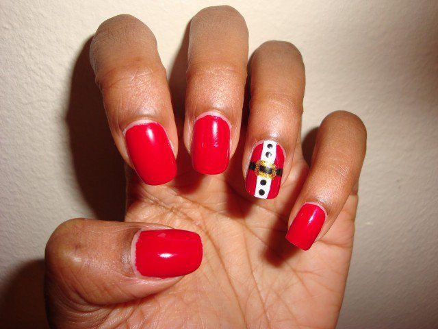 Cute Christmas Nail Designs That Will Amaze You - http://www.laddiez - Cute Christmas Nail Designs That Will Amaze You - Http://www