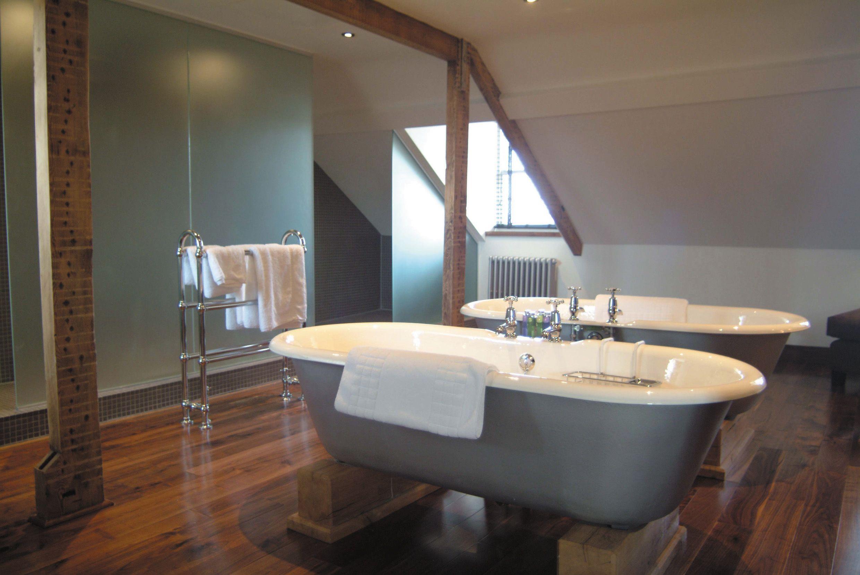 Twin Bathroom At Hotel Du Vin, Harrogate. Supplied By Aston Matthews  Www.astonmatthews