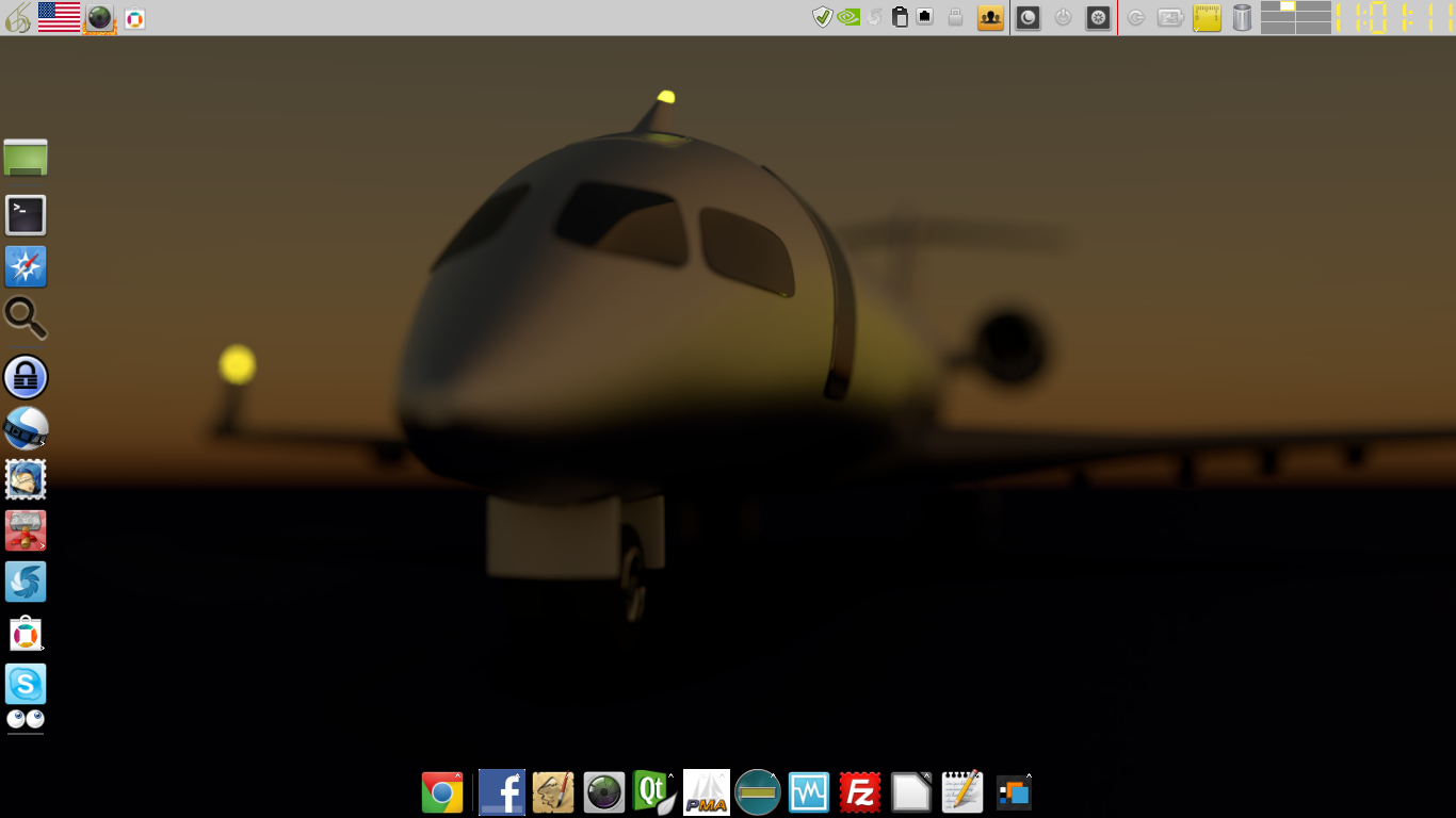 3d Wallpaper Aircraft Crj200 At Night Www Opendesktop Org Backgrounds Desktop Wallpaper