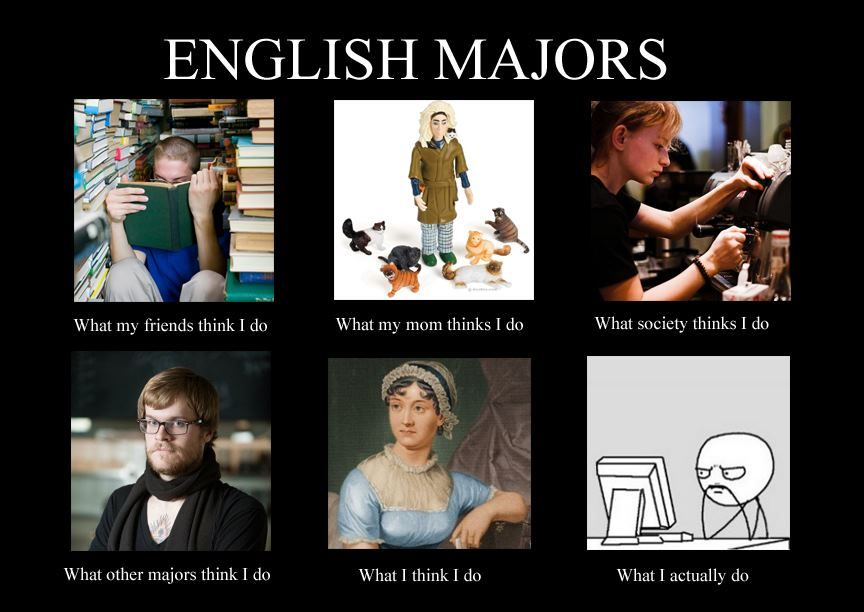 Pin By Katie Lissa On Everything And Anything English Major Humor English Major English Memes