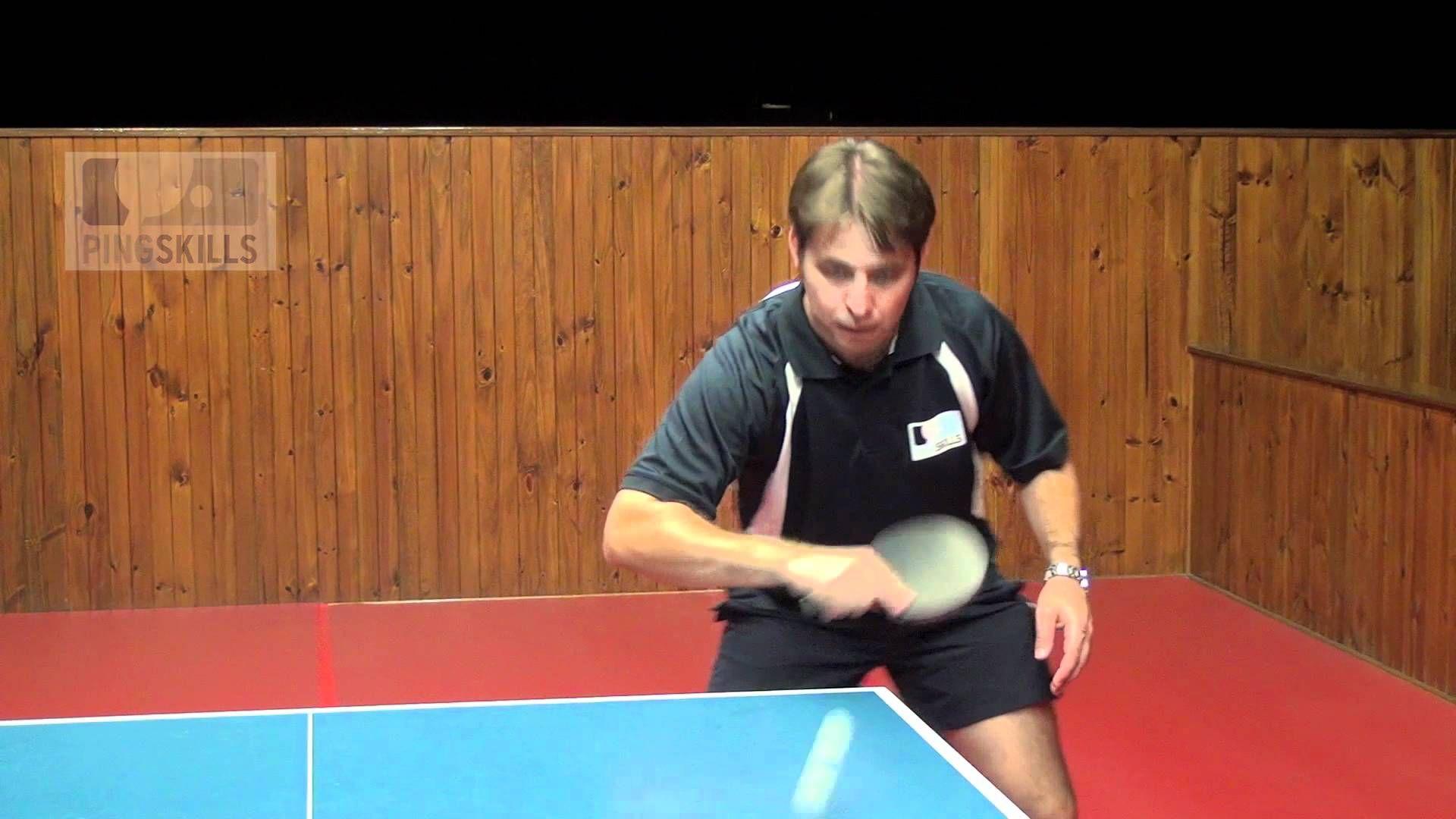 Backhand Push In Table Tennis Table Tennis Tennis Coach Tennis