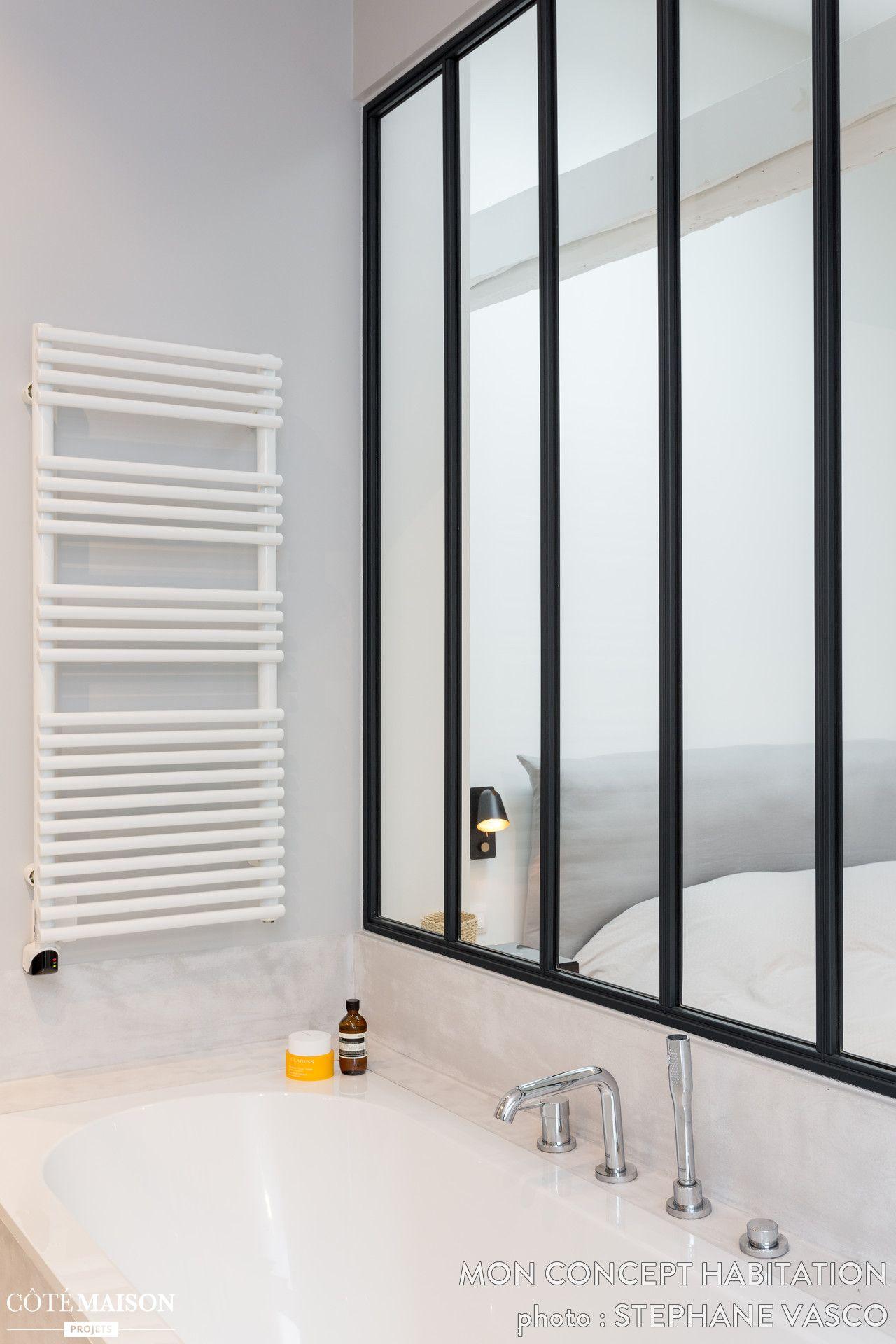 Rnovation Dun Bel Appartement Sous Combles De 70m2 Une Superbe Salle Bain