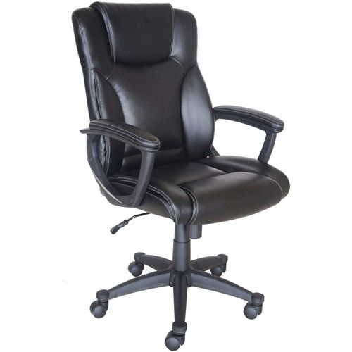Broyhill Bonded Leather Manager Chair 00656292411293 Broyhill