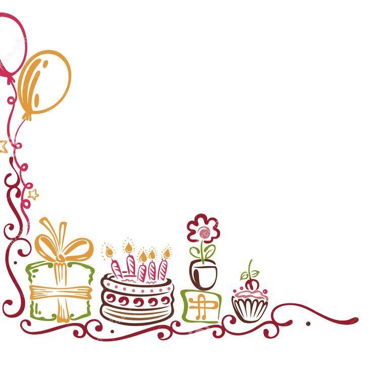 Best Birthday Border 913 Clipartion Com Happy Birthday Frame Birthday Background Images Birthday Frames