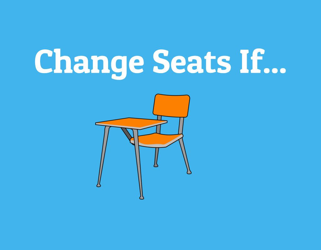 'Change Seats If' is an exciting and fun activity that is ...