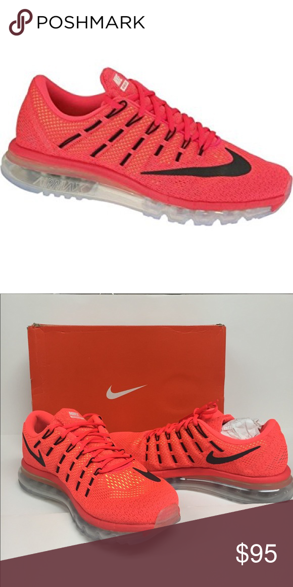 Nike Air Max bright Crimson 806771600 Shoes NIB The Nike air max 2016 men\u0027s  running shoe lets you run the streets in comfort with maximum flexible ...