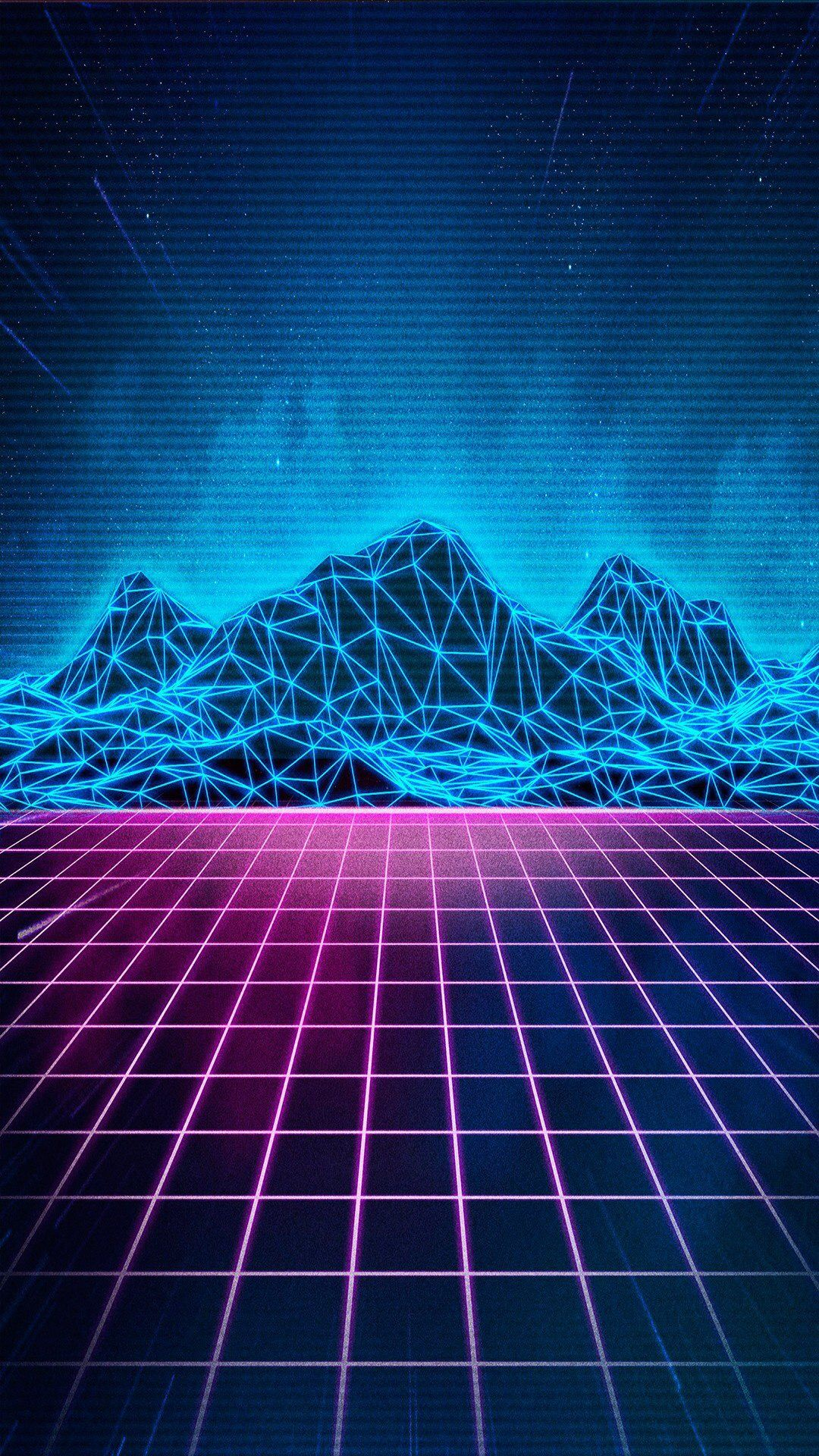 Follow Aesthetic Magik Vaporwave Wallpaper Retro Waves