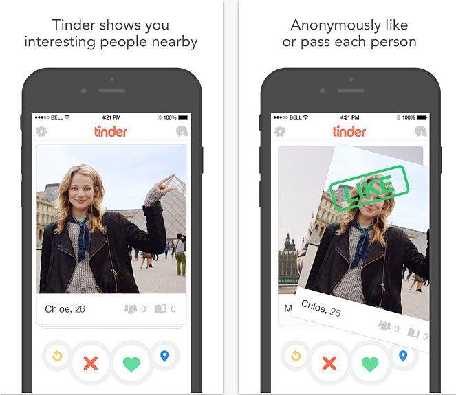 BrightNest Tinder app, App design, Tinder