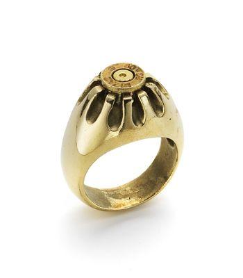 Bullet Holder Chaton Ring