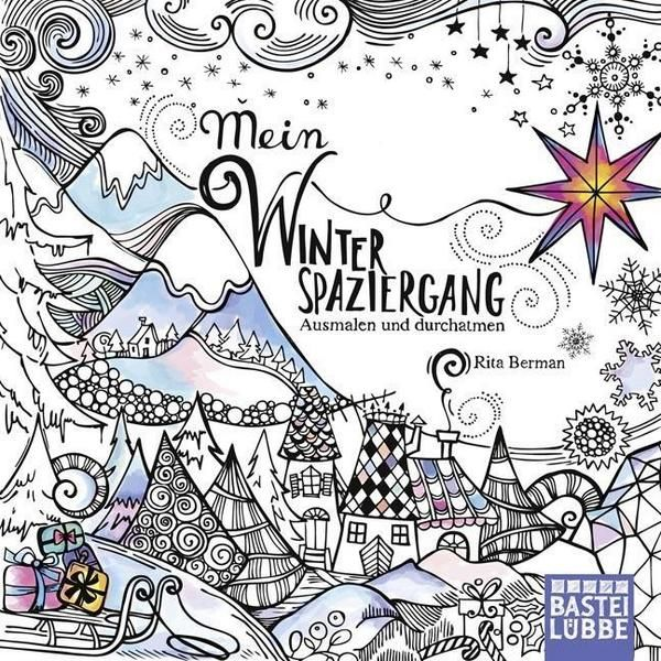 Mein Winterspaziergang | Coloring books, Adult coloring book ...