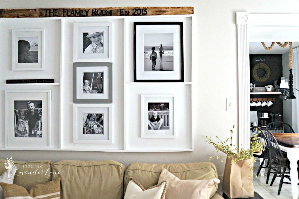 Oops…I Made a Built in Picture Frame Ledge | BHG\'s Best DIY Ideas ...