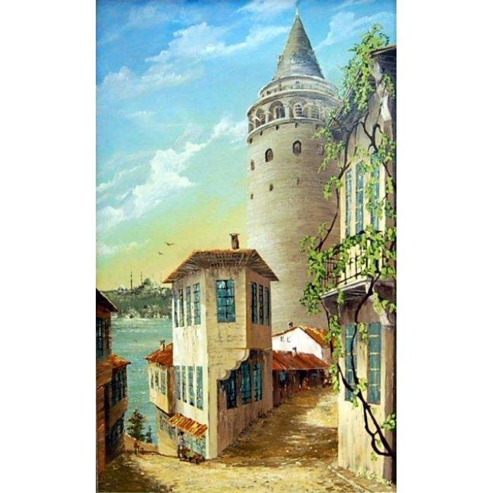 yağlı boya istanbul - Google\'da Ara | eski istanbul | Pinterest ...
