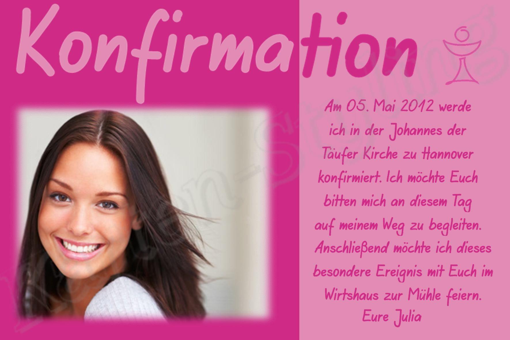 Einladungskarten Fur Konfirmation | Baptism Invitations | Pinterest,  Kreative Einladungen