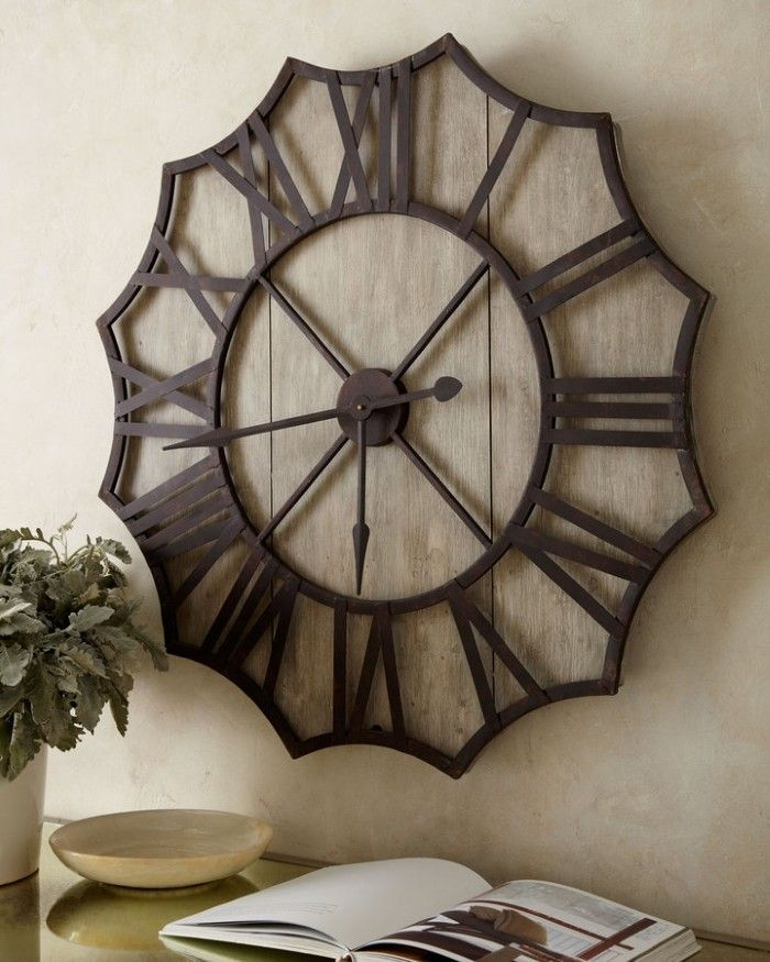 Large wall clock for above buffet/hutch