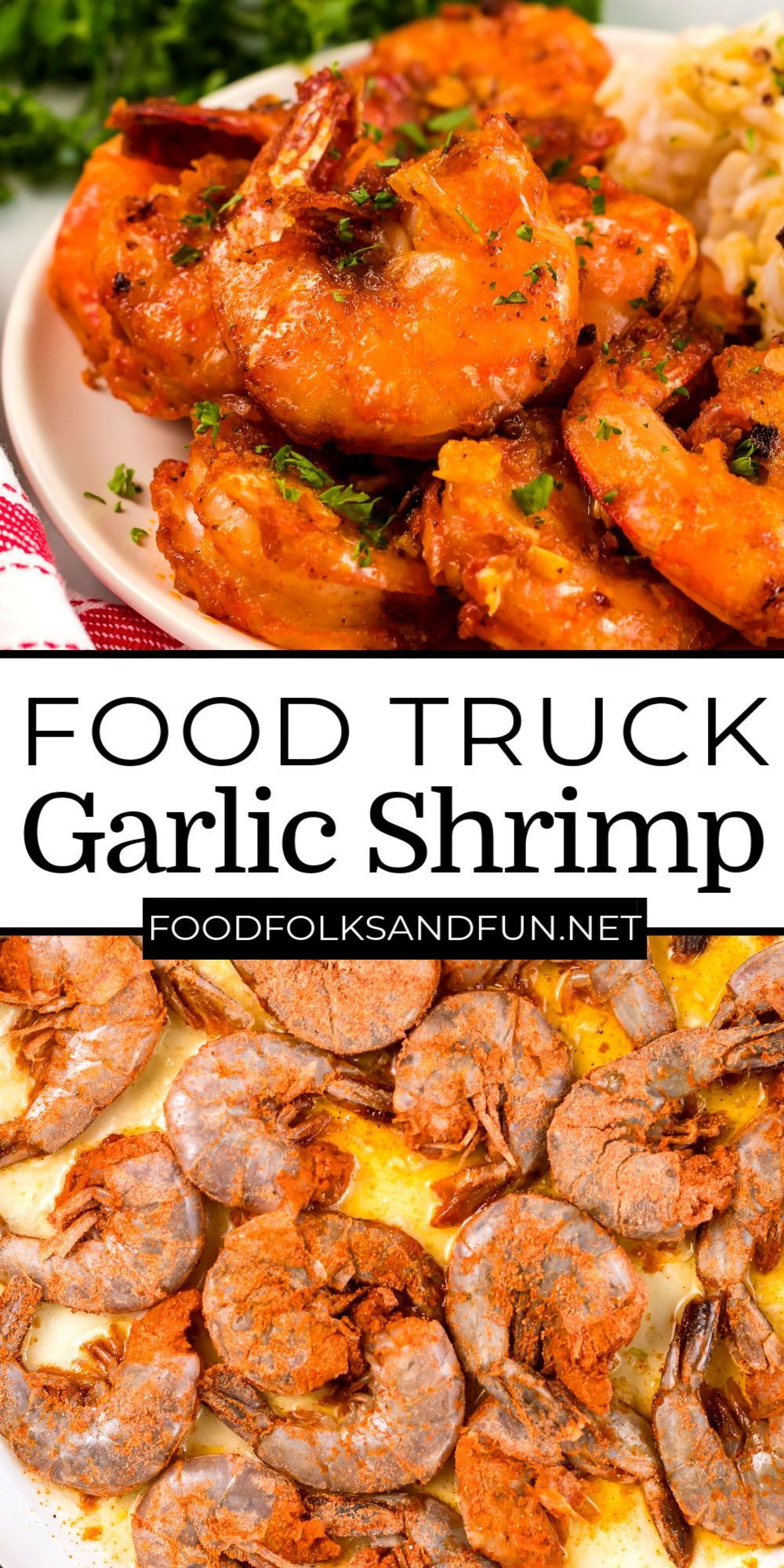 This copycat Hawaiian Food Truck Garlic Shrimp recipe is so succulent! This recipe costs $9.19 to make which is just $4.60 per serving!