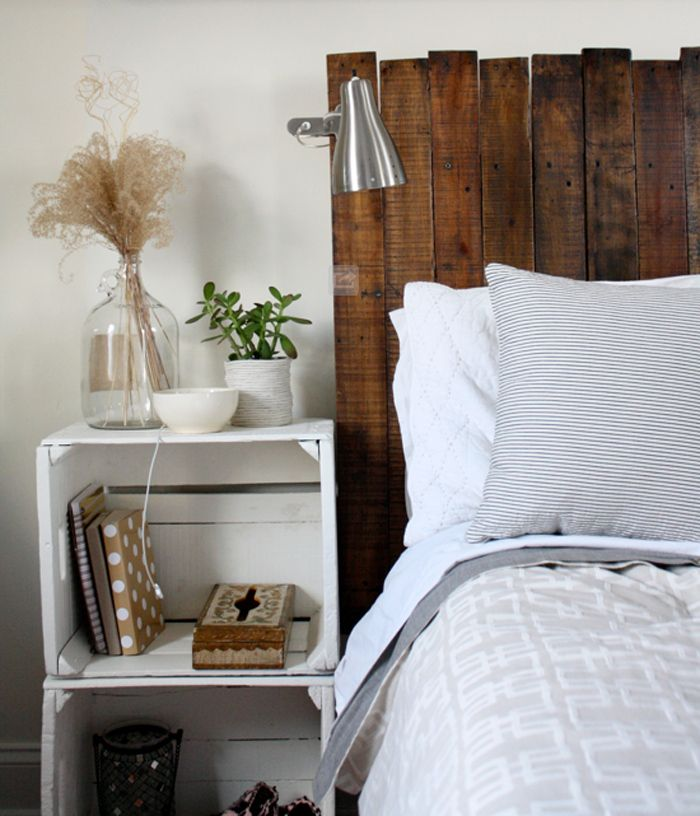 Mini DIY Round-Up! Tote, Headboard + Egg Decals | Diy home ...