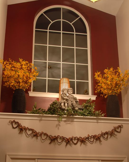 Foyer Plant Ledge Decorating Ideas : Window ledge decor foyer under the front