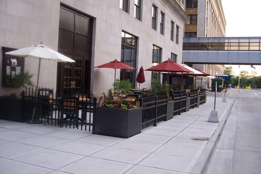 Sidewalk Cafe Fences Google Search Patio 626