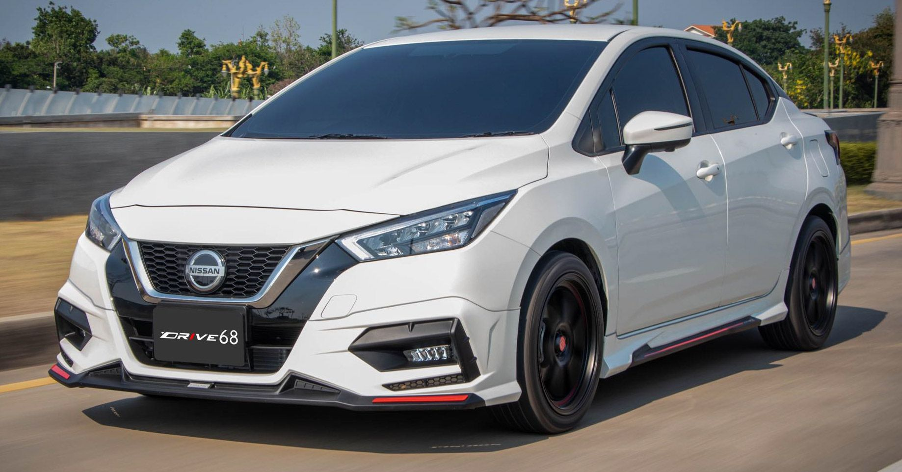 Thailand S Automotive Aftermarket Is A Large One And It Now Has Its Sights Set On The Latest Fourth Generation Nissan Al In 2020 Nissan Almera Nissan Automotive News