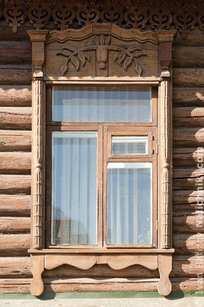 Традиционный наличник Новосибирска №23