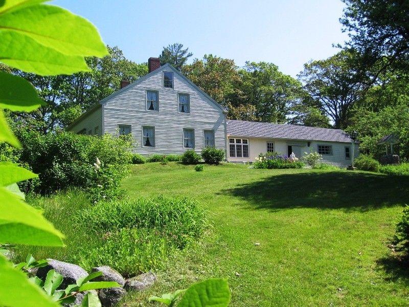 1840 Farmhouse Historic Maine Farmhouse
