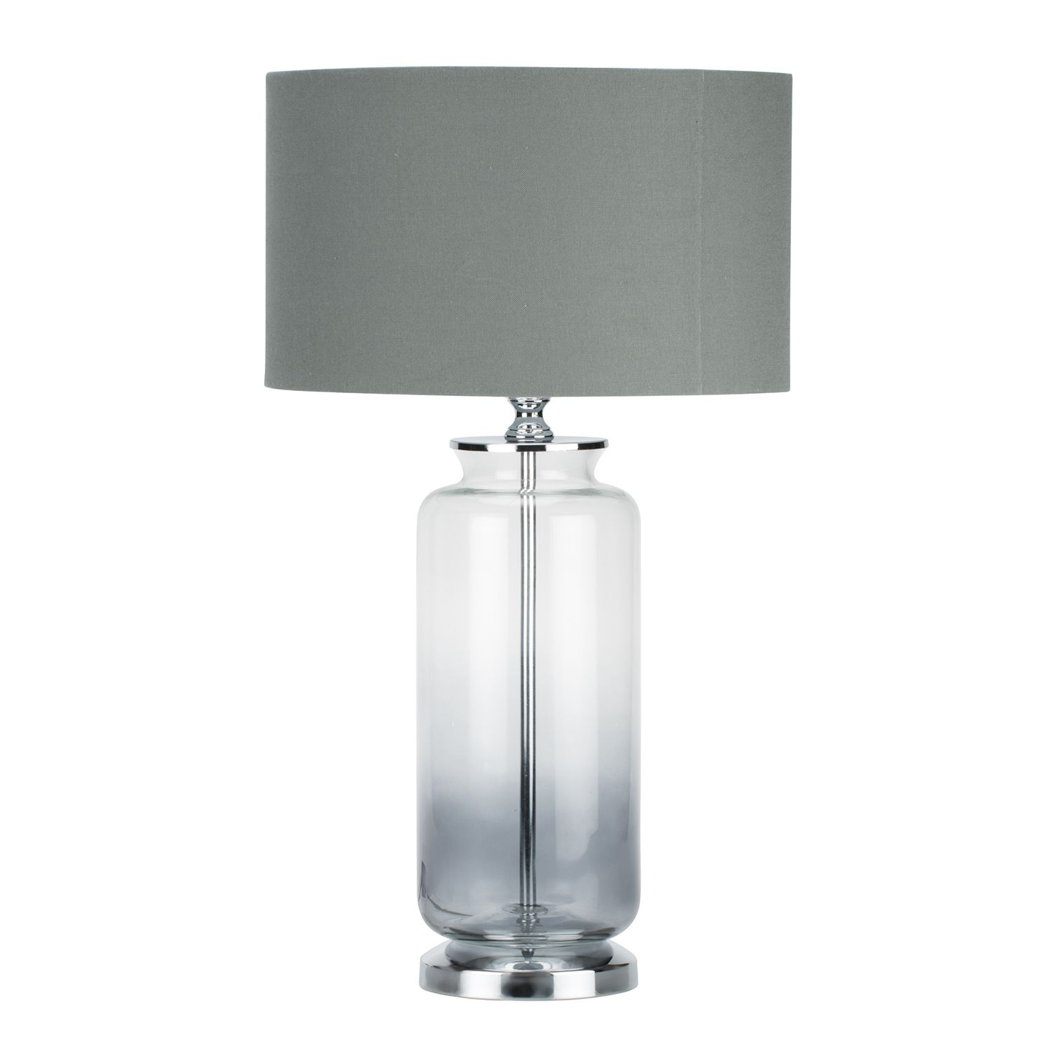 Soho glass lamp one either side of bed for sophisticated look
