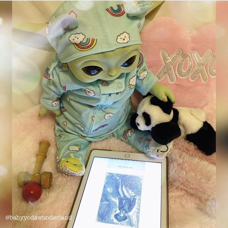 Baby Yoda Grogu Star Wars Art Star Wars Baby Star Wars Yoda