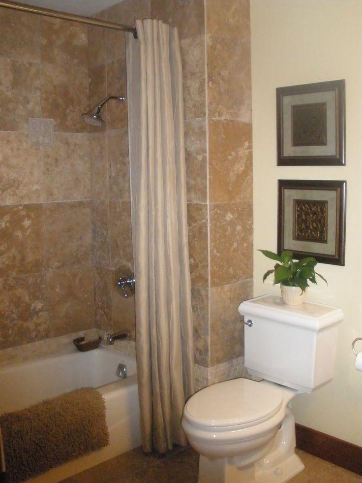 hall bathroom remodel ideas Val the Crafty Gal hall Bathroom