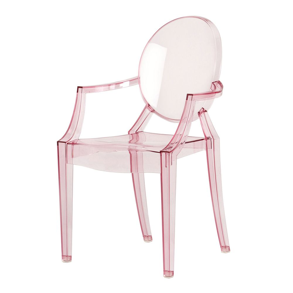 Fauteuil Transparent Pas Cher Lou Lou Ghost Chair Pink Philippe Starck Kartell