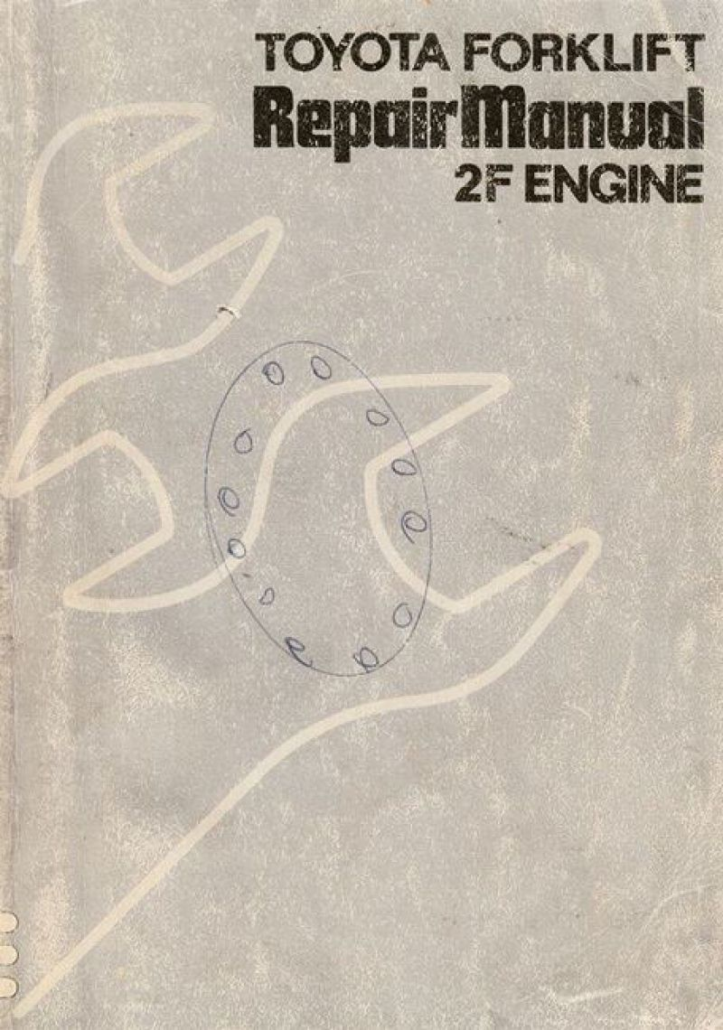 toyota forklift repair manual 2f engine 1983 [ 800 x 1140 Pixel ]