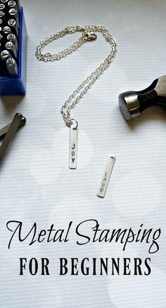 Metal Stamping for Beginners - Creative Ramblings