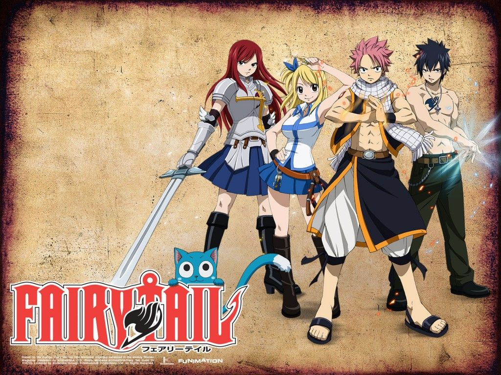 Free Fairy Tail Wallpaper HD 1024×768 Characters anillos
