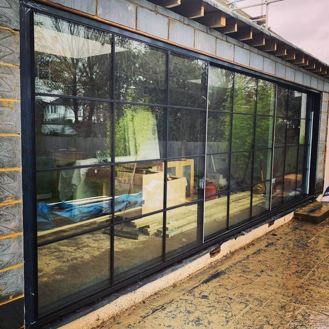 1st Folding Sliding Doors On Instagram Our 20mm Virtually Frameless Sliding Door Wi Frameless Sliding Doors Sliding Folding Doors Aluminium Windows And Doors
