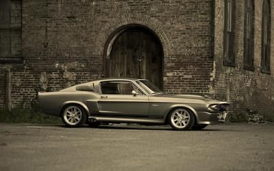 Ford Mustang Shelby Gt 500 Eleanor Hd Wallpaper Ford Mustang