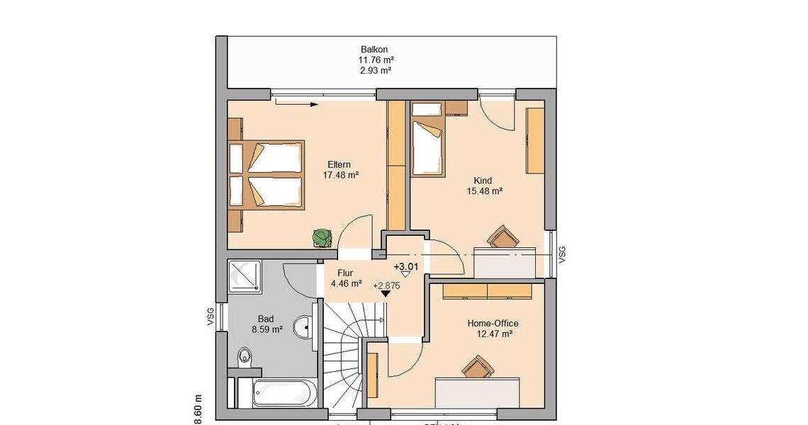Bauhäuser Cool house designs, Floor plans, House styles