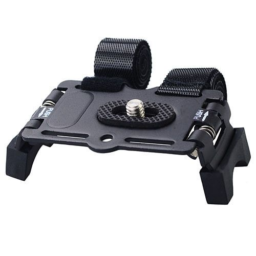 Bicycle Bike Action Camera Video Metal Mount Holder - Black