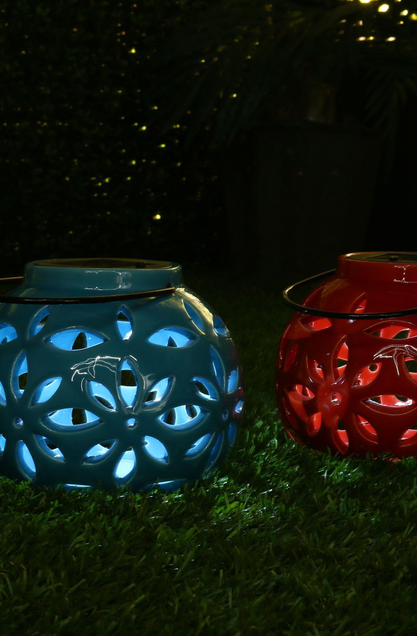 light up the night beautiful yet durable these 9 u0027 u0027 solar ceramic