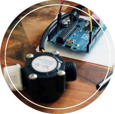Arduino water flow sensor project | Arduino in 2019