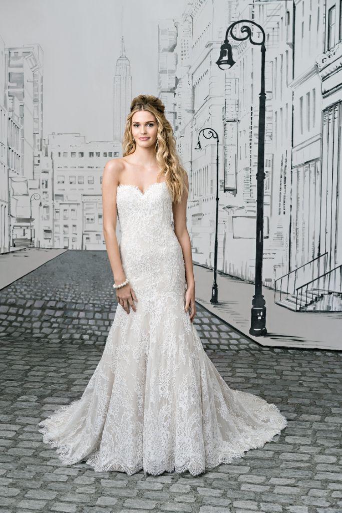 Justin Alexander 8893 Front (Perth)   Belle en Blanc Gowns ...