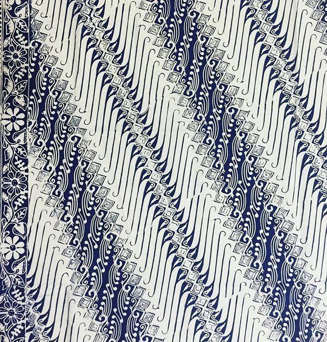 Desain Batik Motif Bunga Dan Daun Hitam Putih - Batik ...