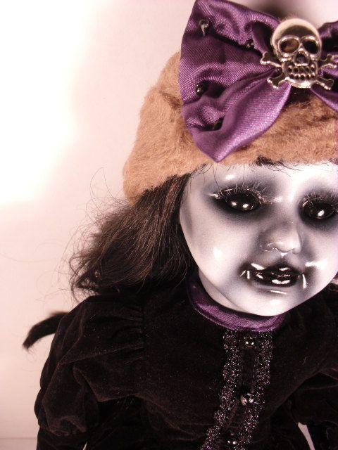Anastasiya 16 Scary Spooky OOAK Altered Porcelain by DeceasedArt - scary diy halloween costumes