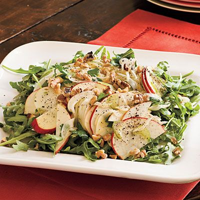 Entertaining Salad Recipes: Marian's Apple-Fennel Salad < Side Dish Recipes - Southern Living