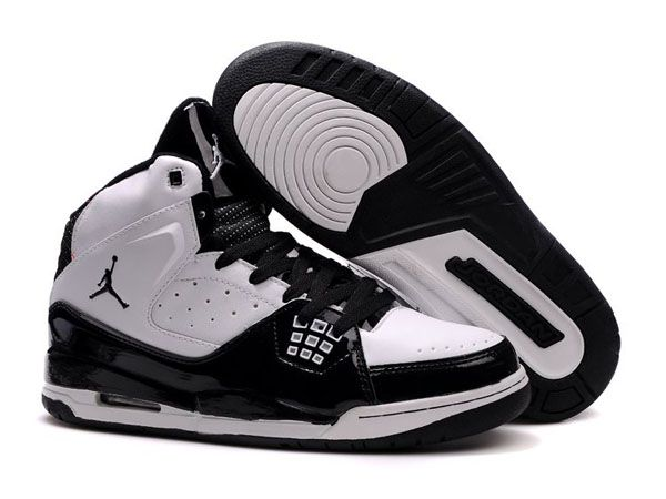 750fbe8ff0db77 Air Jordan 2010 Threaded Shoes In Black White in 2019